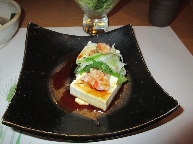 海老と豆腐の蒸し物