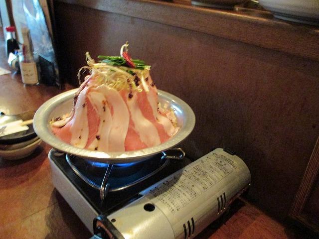 豚肉のお鍋