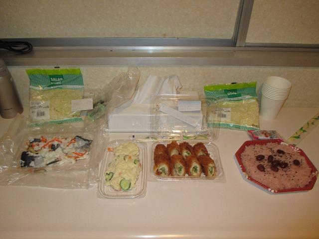 ニシンの飯寿司やあまい赤飯