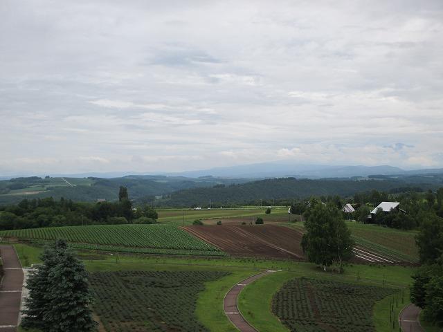 北西の丘展望台からの眺め