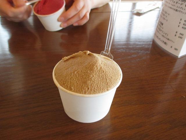 アイスクリーム・エスプレッソ味