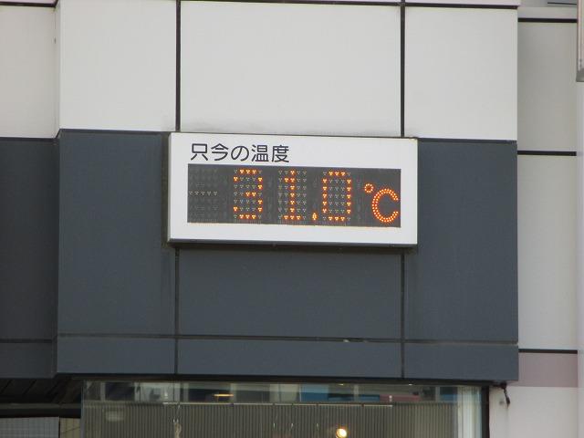 31.0℃を指す温度計