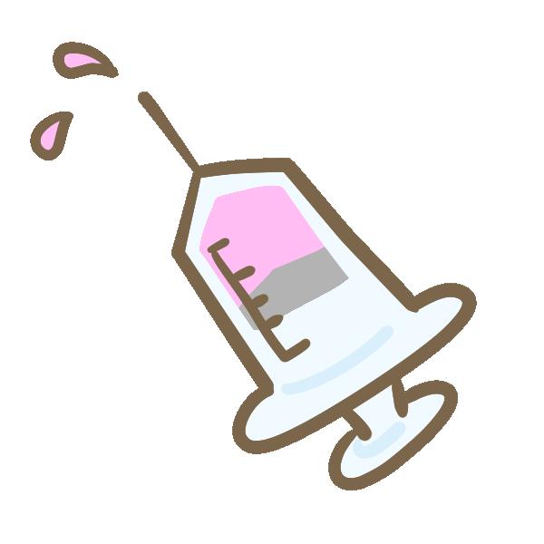 注射のイラスト