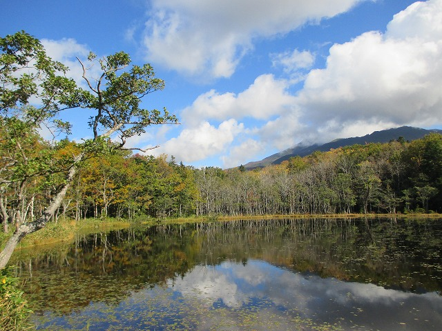 五湖の景色