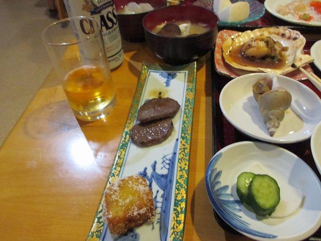 エゾシカ肉と芋もち