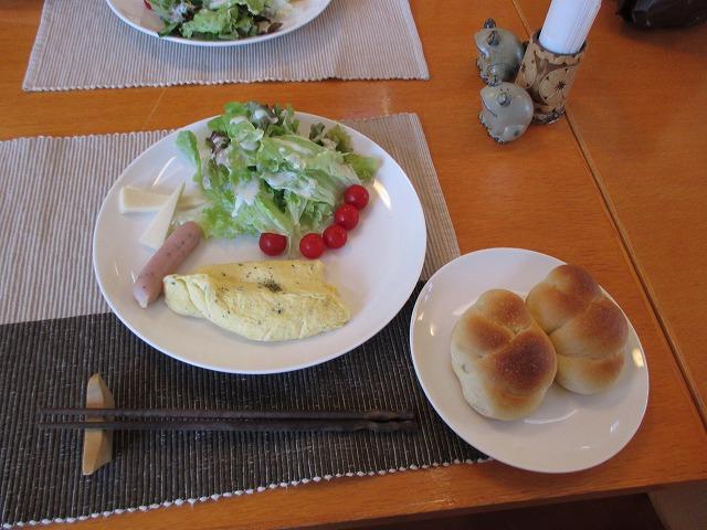 朝ごはんのメニュー・手作りパンなど
