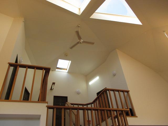 とうろの宿・食堂の天井