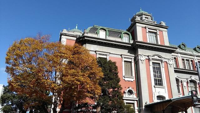 大阪市中央公会堂・左側