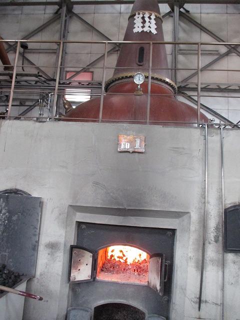 単式蒸溜器(ポットスチル)