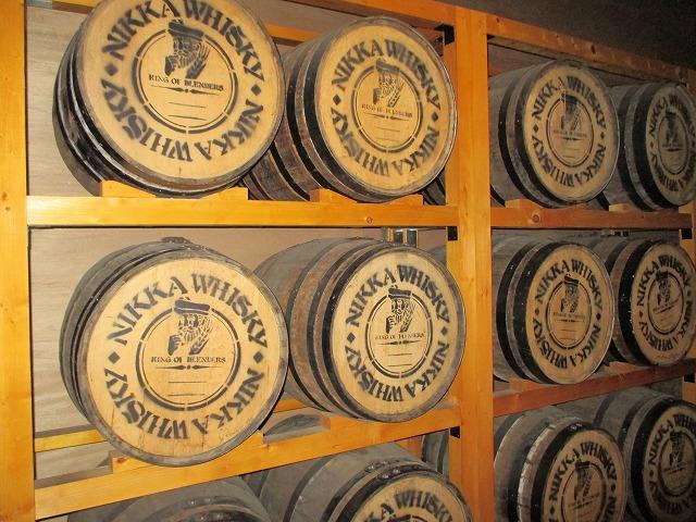 ウイスキーの樽