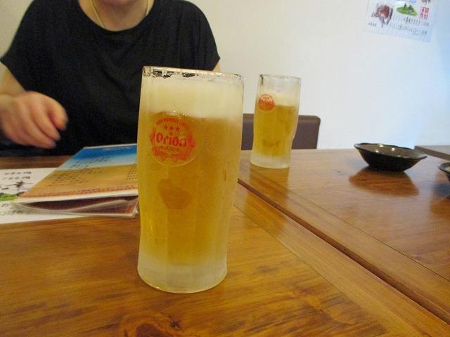 ヒエヒエの生ビール