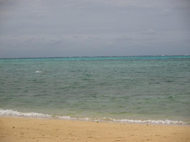 穴場ビーチの海岸