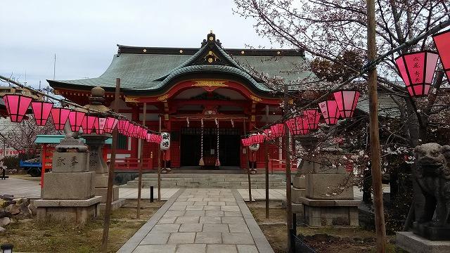 土佐稲荷神社・本殿