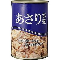 業務スーパーあさりの水煮缶