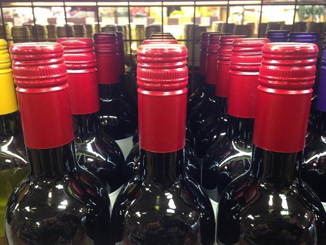 スクリューキャップのワイン