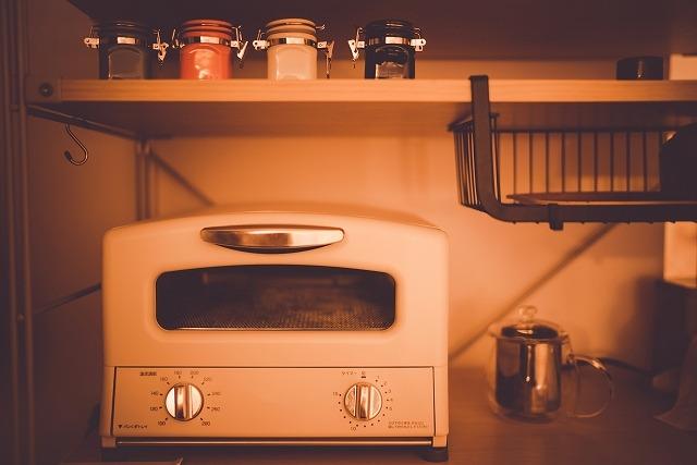 レトロなオーブントースター