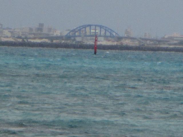竹富島から見るサザンゲートブリッジ