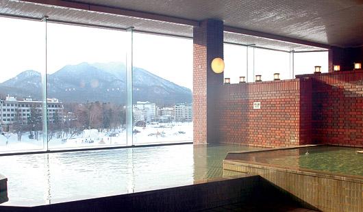 ホテル阿寒湖荘の大浴場